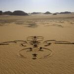 Sandzeichnung